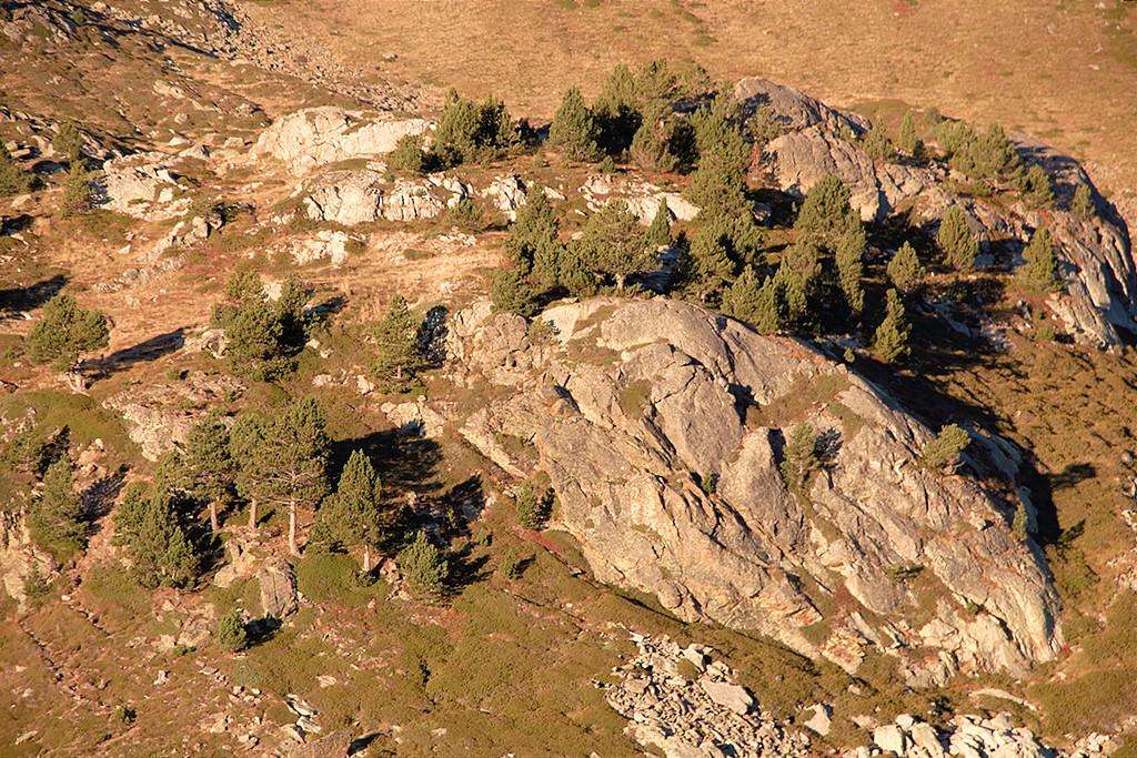 au-dessus de l'estany Primer de Tristaina