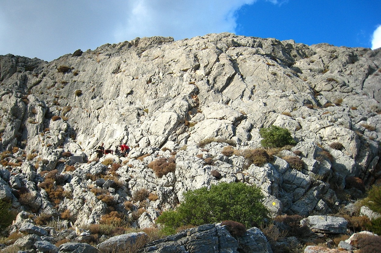 La petite falaise de Julian (Kalymnos)