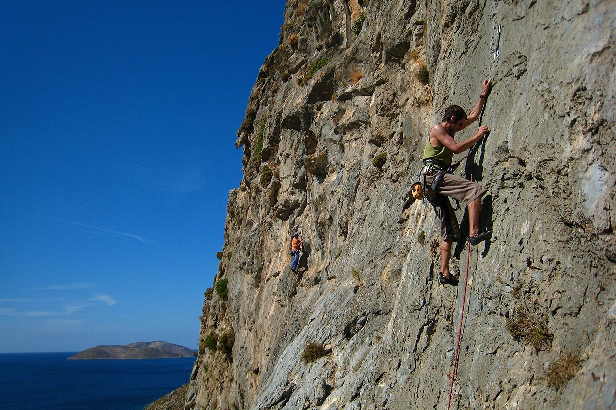 Selene (5b), Sea Breeze, Kalymnos