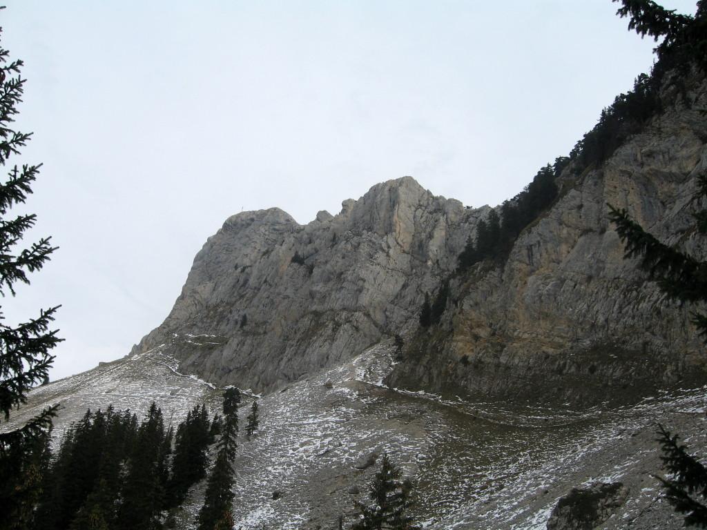 Le Grand Som depuis le col du Frenay