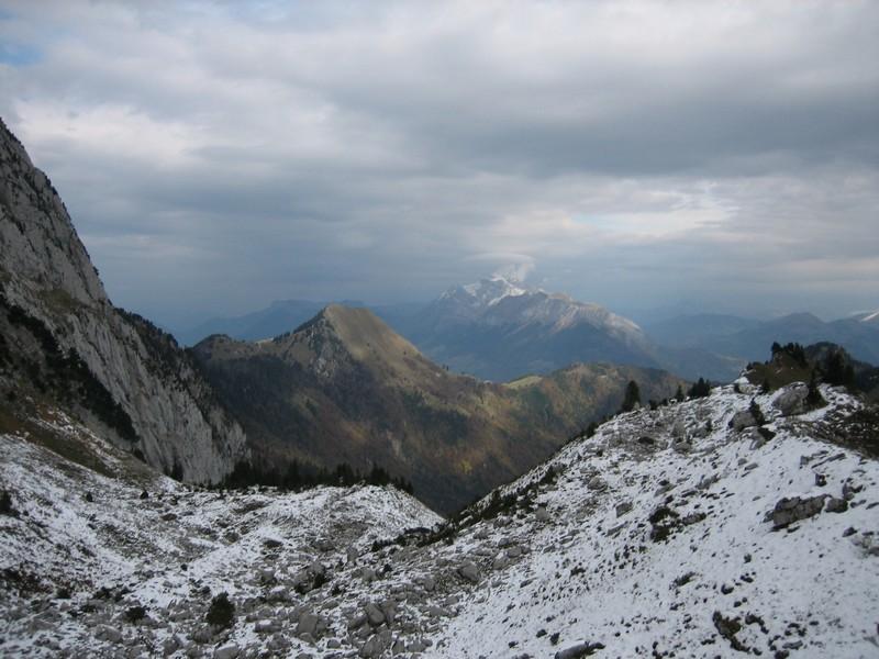 Pointe de Vélan et Tournette au fond