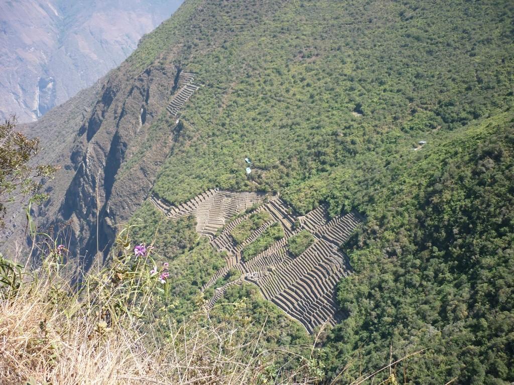 Terrasses inférieures du Choquequirao