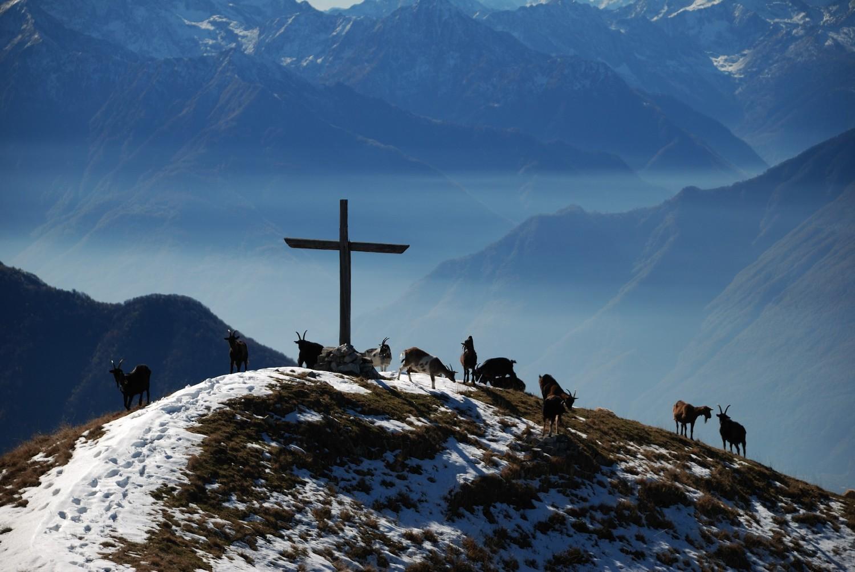 Sommet du Monte Alom (2017m), Ossola