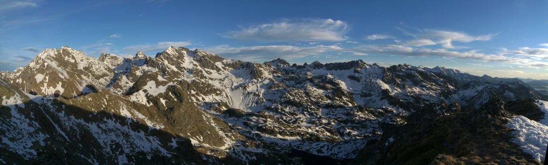 Panorama de la grande Lance à Chamrousse