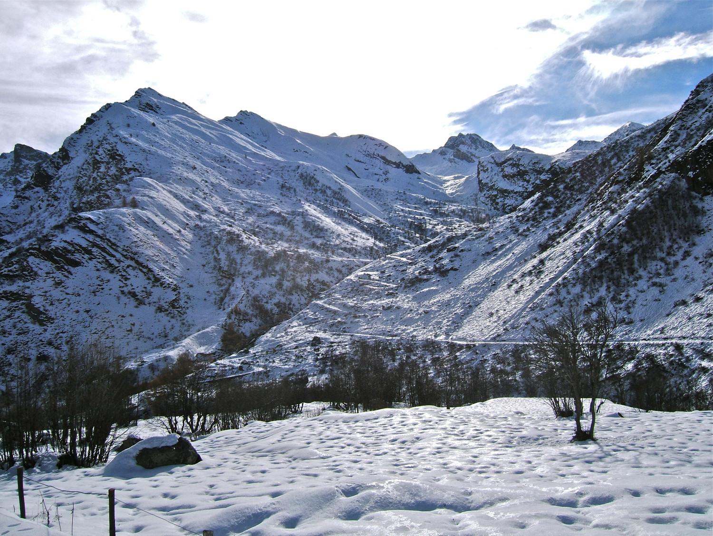 Vallée menant à Rocca la Marchisa.