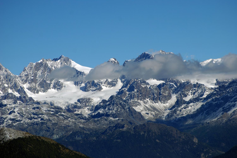 Il gruppo del Bernina dalla Cima di Campello 2248 m