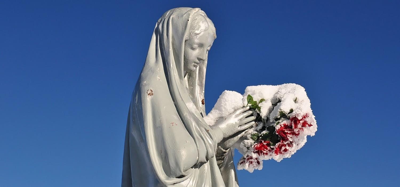 Marie au bouquet