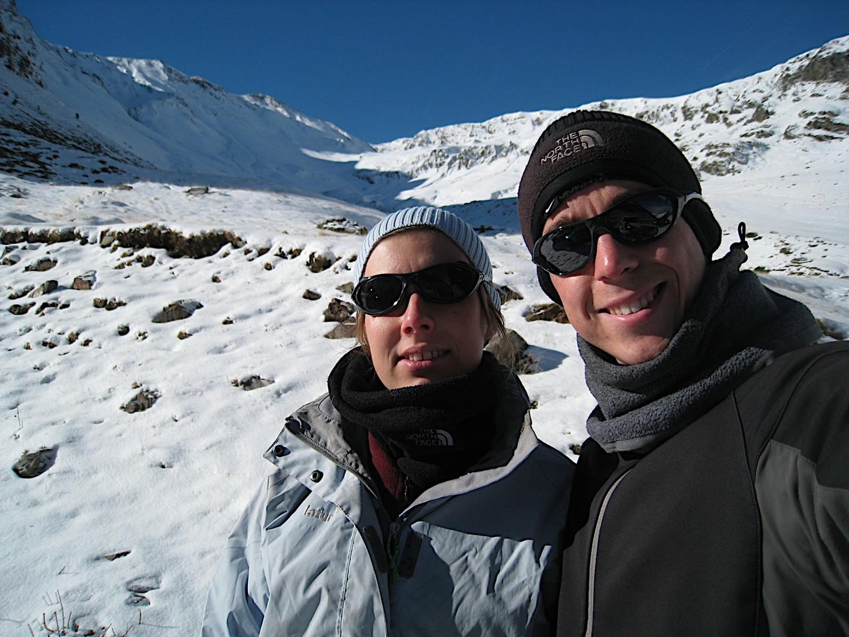 Départ pour notre première sortie ski de l'année :)