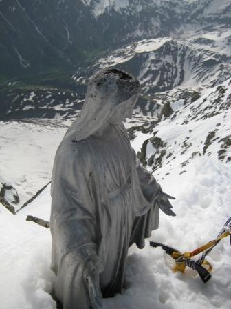 Coup de foudre pour la Vierge du Dolent