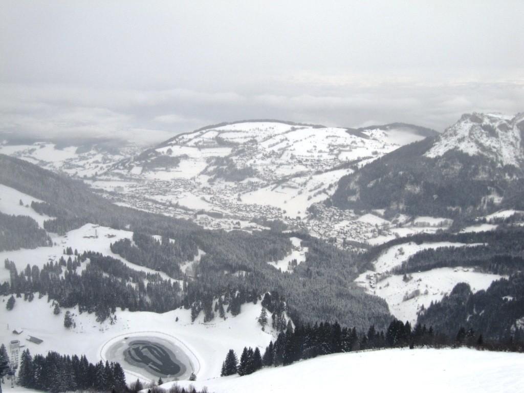 Bernex et le Mont Bénand