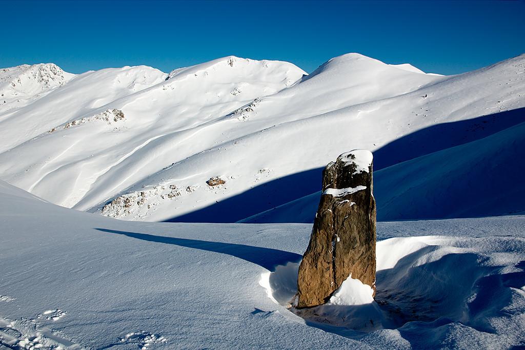 col de Peyrehicade, pic du Lion - Montious