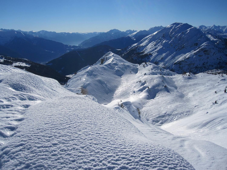 il monte del Calore visto dalla vetta del m. Resverde