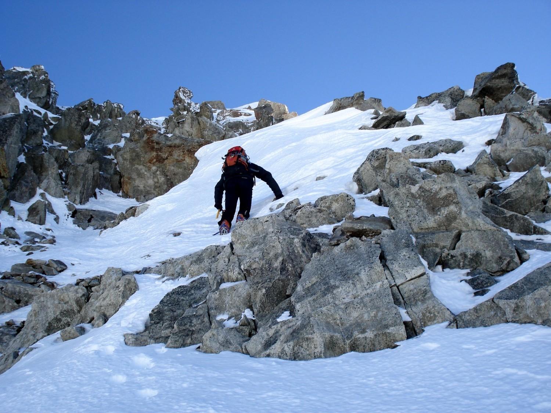 Montée au Grand Pic