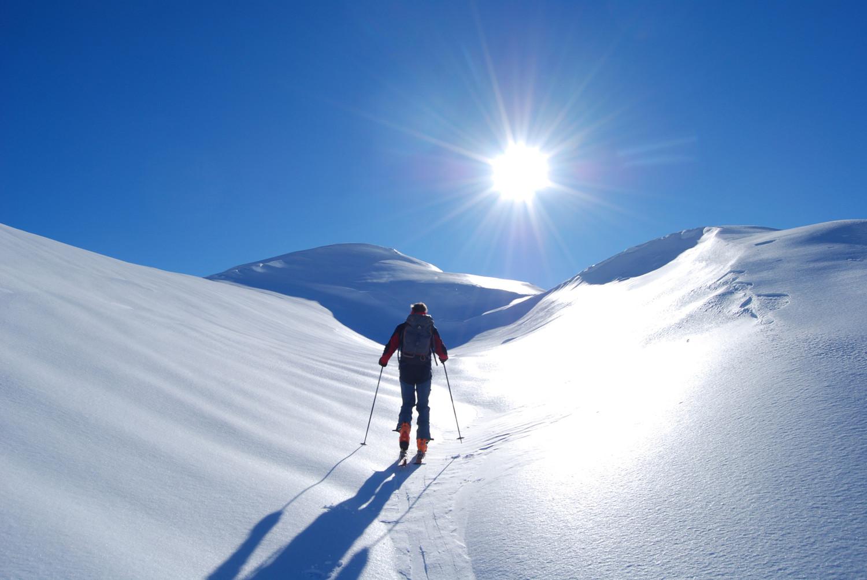 Poco prima di raggiungere il Monte Largone 2449 m.