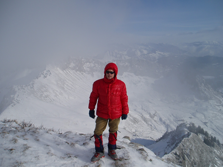 Haute Pointe dans le froid
