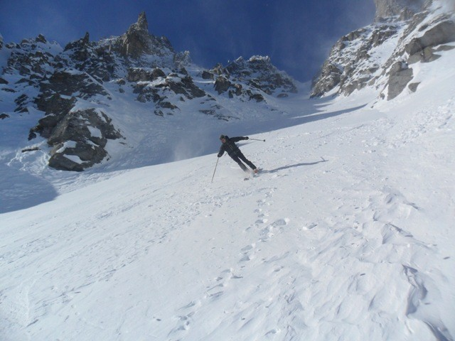 ...freeride al Devero...