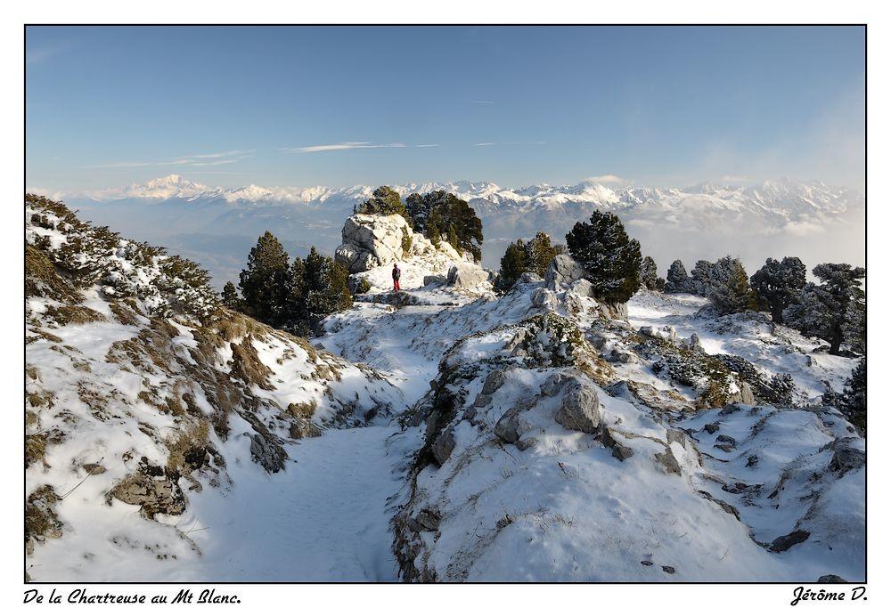 descente par le col de l'Alpe