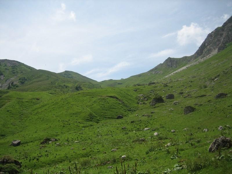 Col de Coux (côté Suisse)
