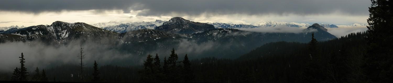 Essai panorama depuis Col de la Sure (avec Autostitch)