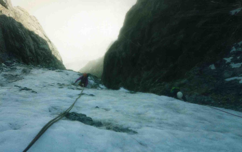 la glace n'est pas très épaisse