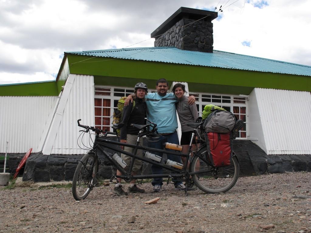 Reprise du vélo après une pause maté au refuge UNcuyo