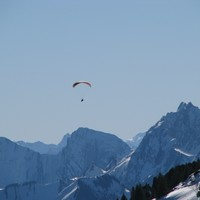 Parapente et  Bauges(photo Nico)