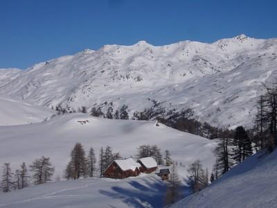 Le refuge en hiver