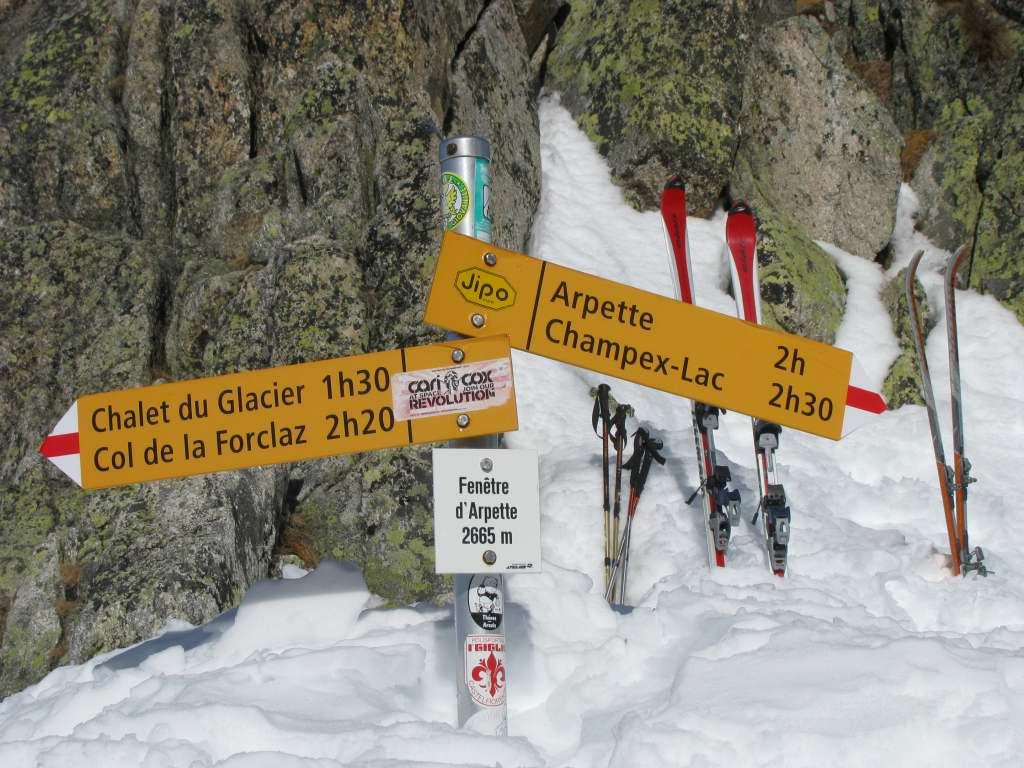 Fen tre d 39 arpette depuis champex 13 f vrier 2011 for Fenetre d arpette