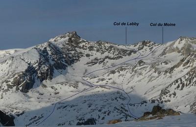 Montée au Col de Labby