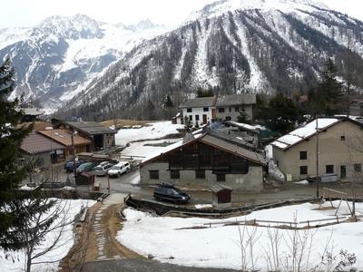 La Boerne - Trélechamp - vue de la route du col des Montets