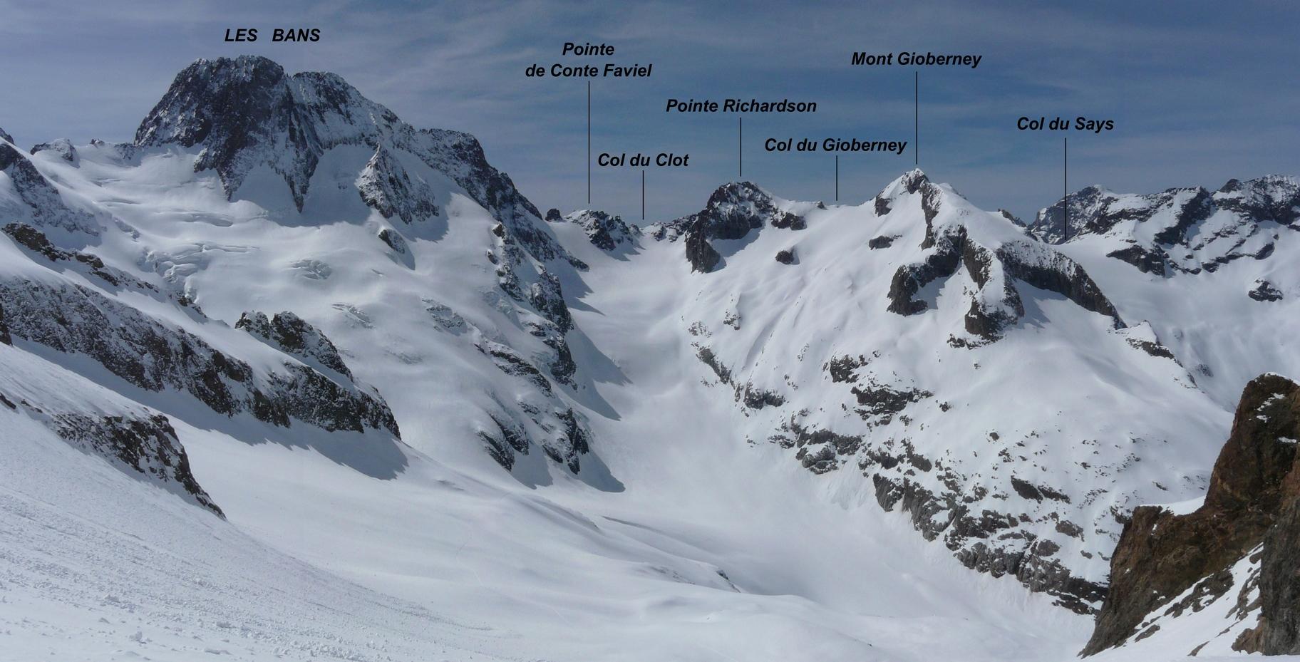 Mont Gioberney    Sommet