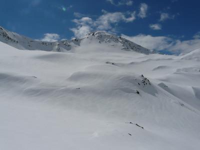 Mont Chéarfière - versant descente