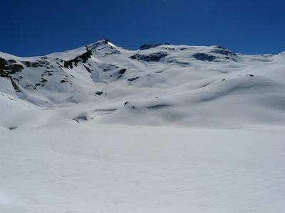 Grande Vaudala - pointe N à gauche - versant NW