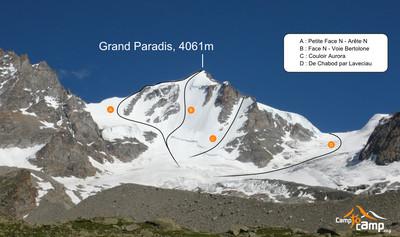 Grand Paradis, versant N