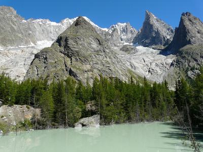 Lac du Jardin du Miage ou lac Vert