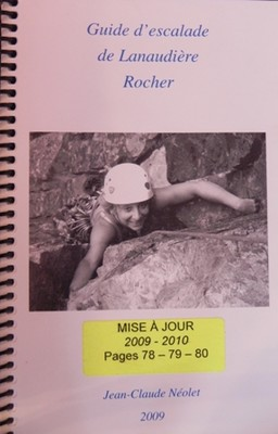 Guide d'escalade de Lanaudière