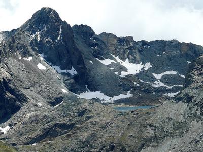 Pointe Miserino et lac Miserini (Vallée de Cogne)