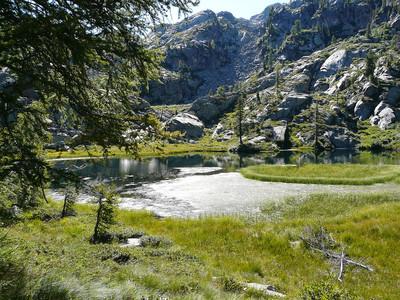 Lac Lei Long d'en Bas (réserve du Mont Mars)