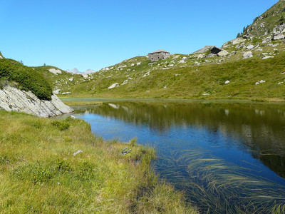 lac de Lé Lounc d'en Haut (réserve naturelle du Mont Mars