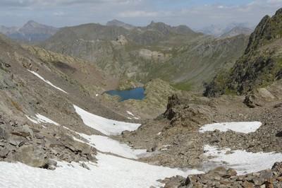 Vallon de la Montagnette, sous le Pas de Vens