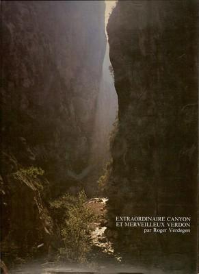 Extraordinaire Canyon et Merveilleux Verdon. 1<sup>re</sup> de couverture.