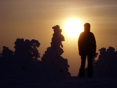 Pic Dubuc: -30°C à l'aube