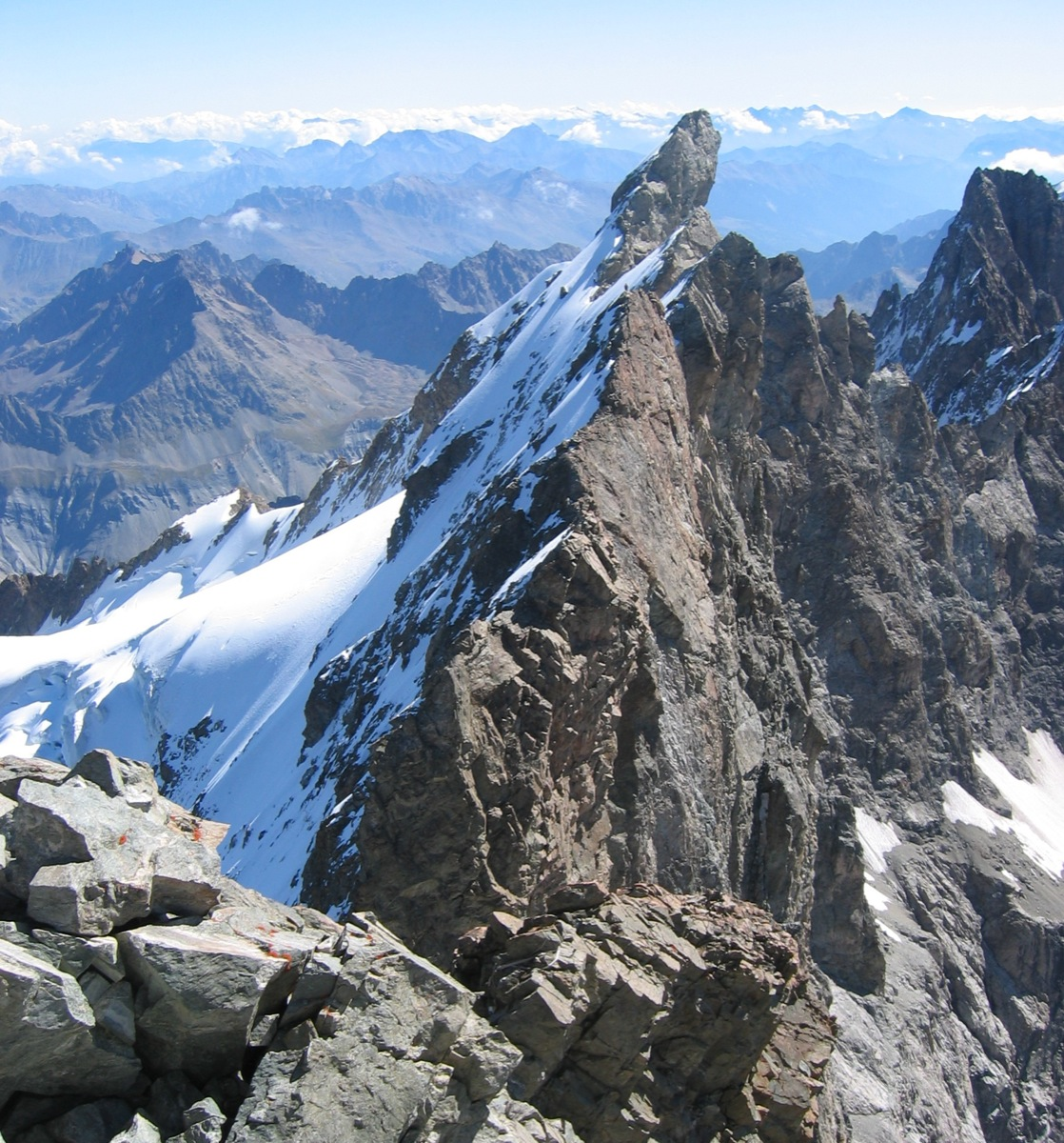 La Meije - Grand Pic : Arête du Promontoire (voie normale ...