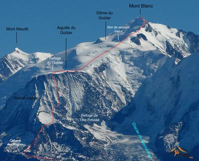 Mont Blanc - Voie Normale par le Goûter