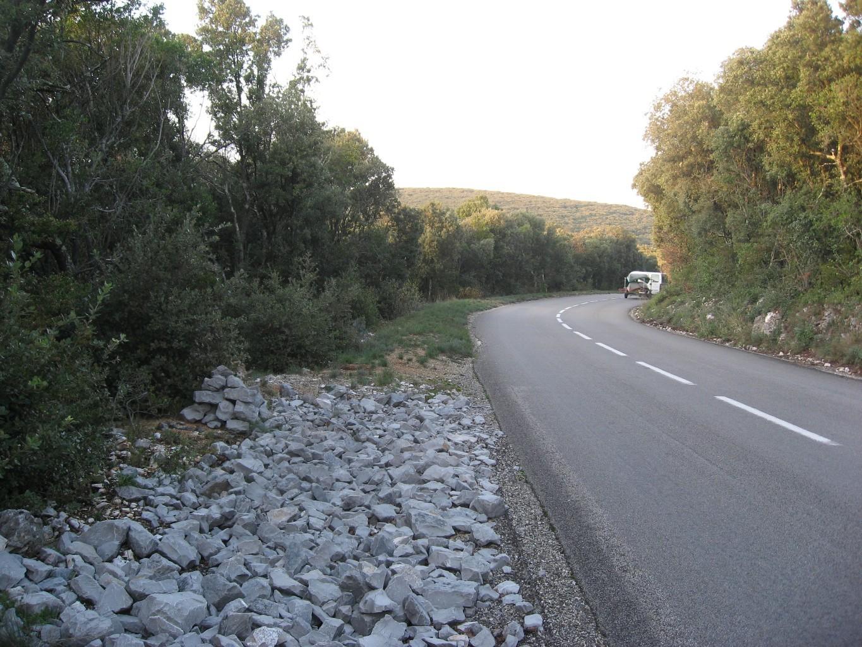 cairn de départ du sentier