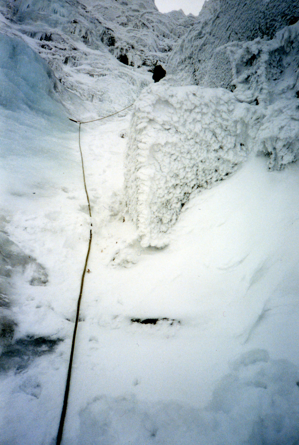 Parallel Gully A : 2eme longueur