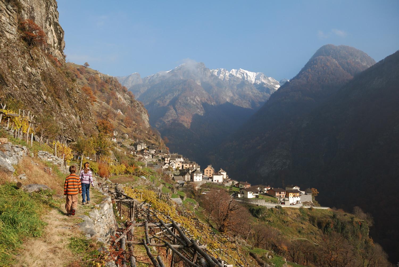 Brontallo, Valle Lavizzara