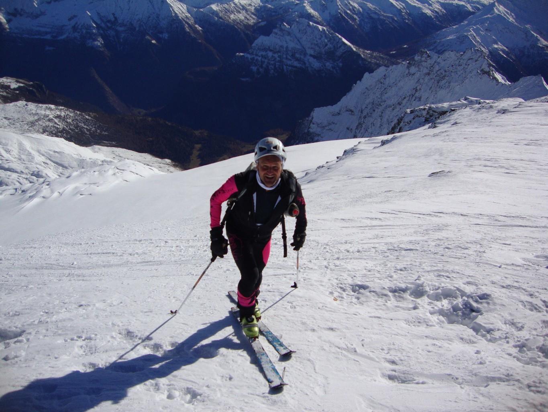 Breithorn, 15.11.2011, arrivée au sommet