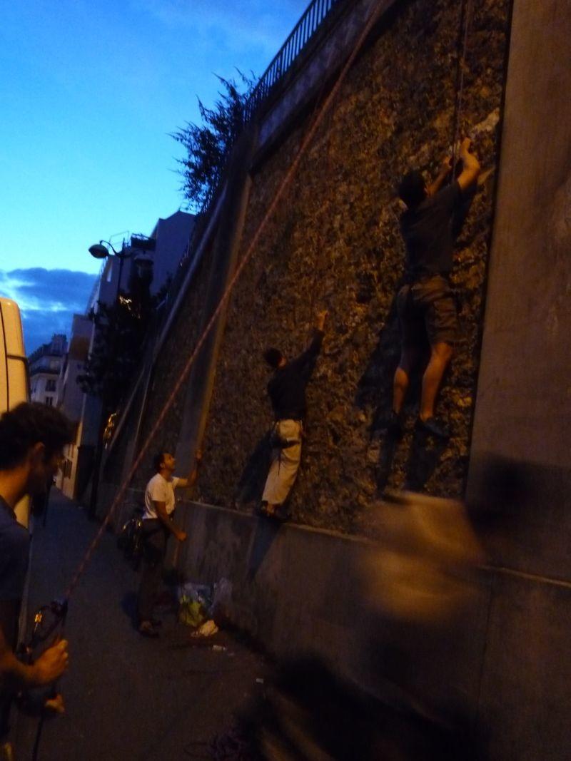 Grimpe urbaine : à l'assaut de la meulière