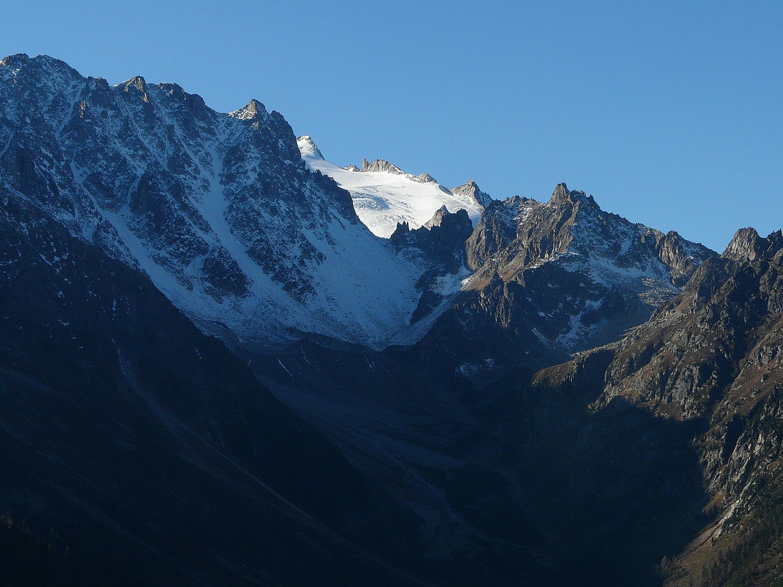 Val d'Arpette - pointe et col des Ecandies - Orny
